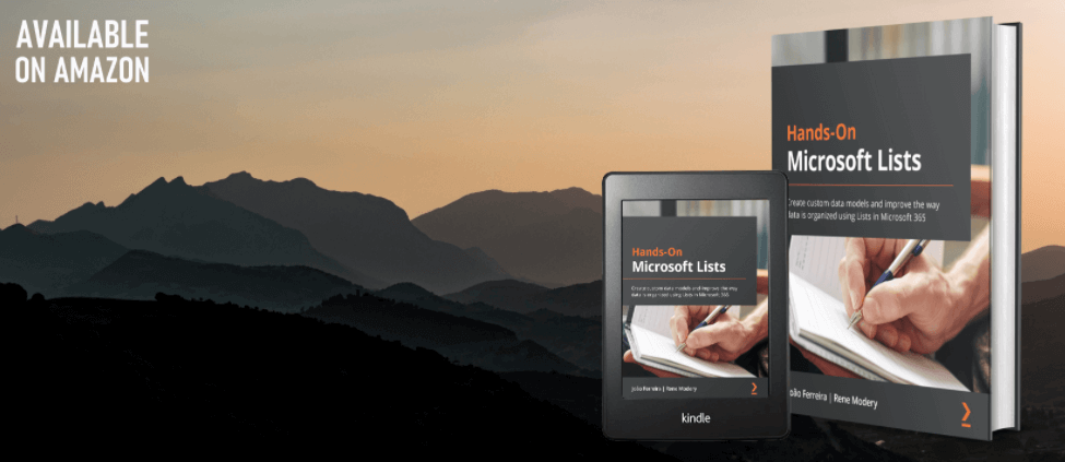 Hands-On Microsoft Lists book