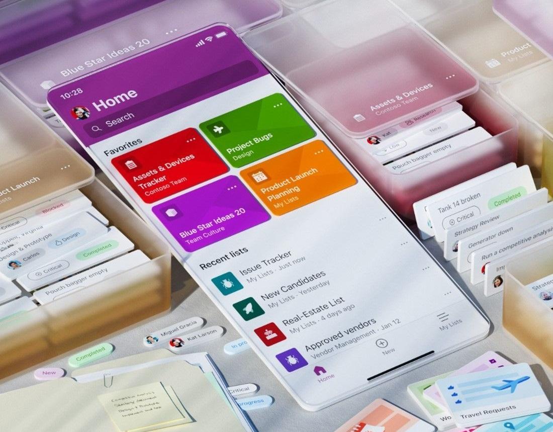 Microsoft Lists for iOS
