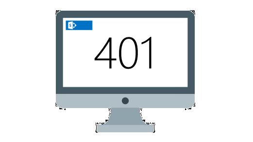Fix SharePoint 401 error