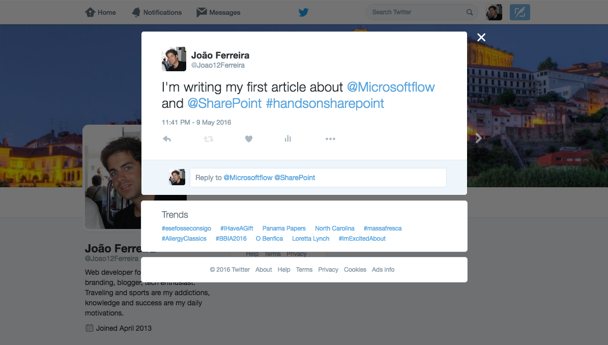 Connect external services to SharePoint using Microsoft Flow