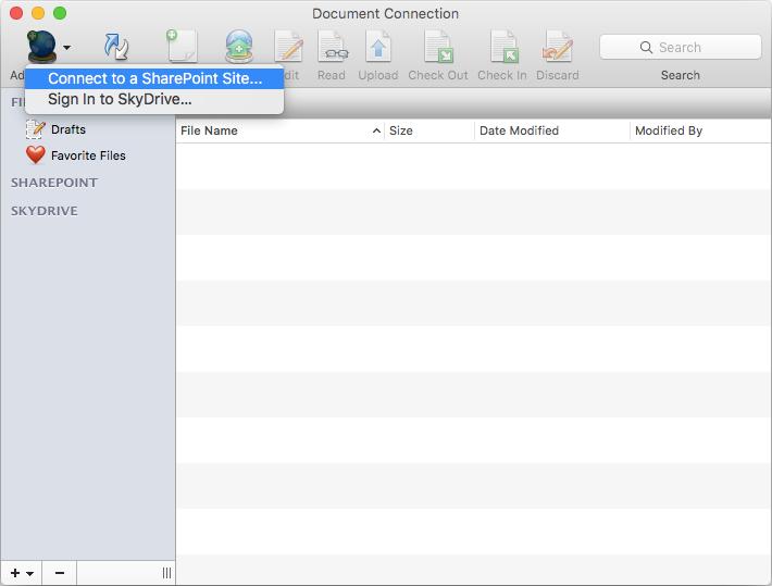 SharePoint Mapped Folder