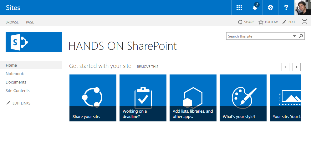 SharePoint Managed Navigation