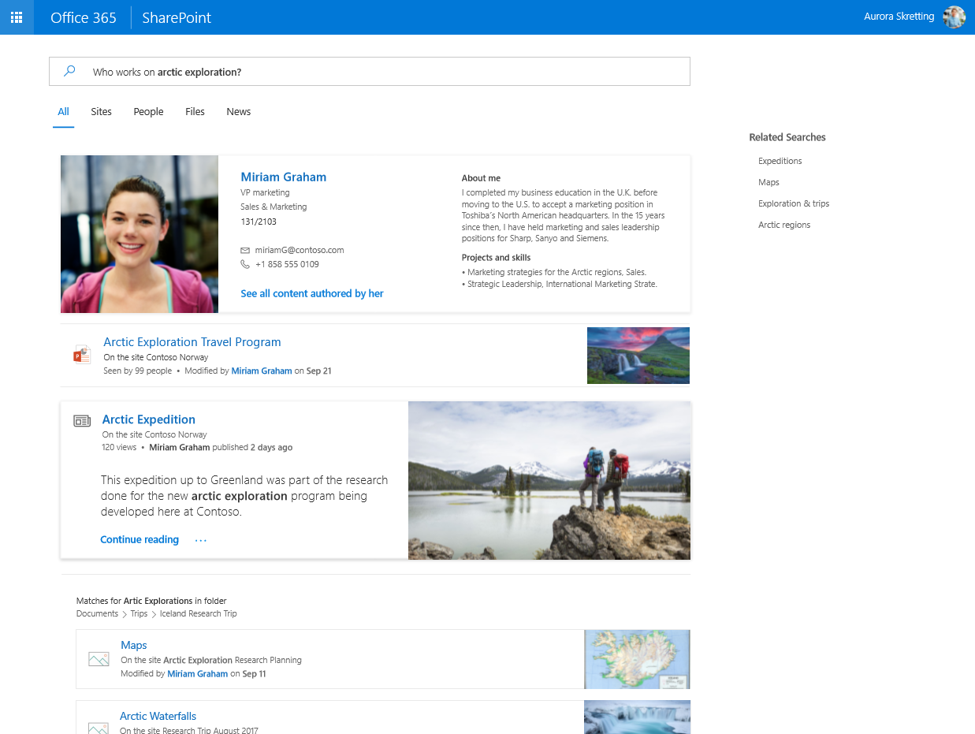 What's New For SharePoint From Microsoft Ignite
