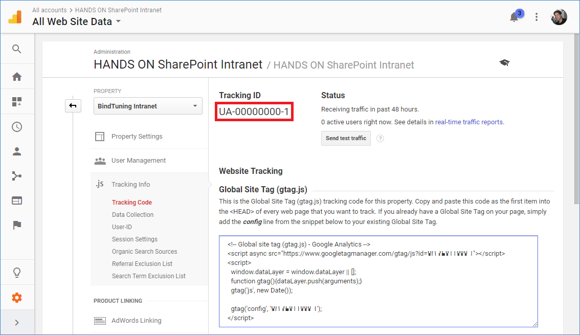How to add Google Analytics to the Modern SharePoint | HANDS