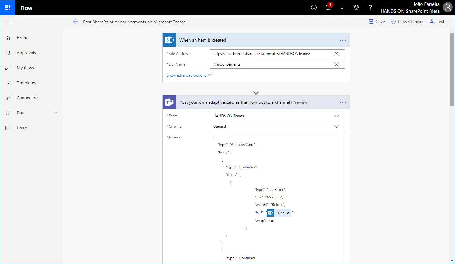 Publish SharePoint Announcements into Microsoft Teams | HANDS ON Teams
