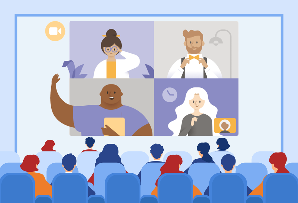 Microsoft Teams meeting viewers